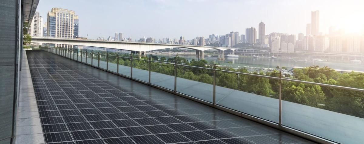 Photovoltaik-Pflasterstein